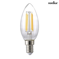 Nordlux LED Filament Kerze dimmbar