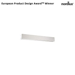 design for the people by Nordlux LED Wandleuchte IP S16, 7W+9W LED, 3000K, 1100lm, IP44, weiß
