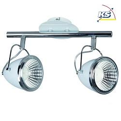 LED Wandleuchte OLIVER 1 Flammig Incl 1x5W LED GU10in Wei Chrom Spot Lig