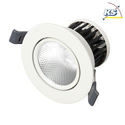 Radium LED-Einbauleuchte RaLED Spot, 5W 3000K 430lm 36° IP20