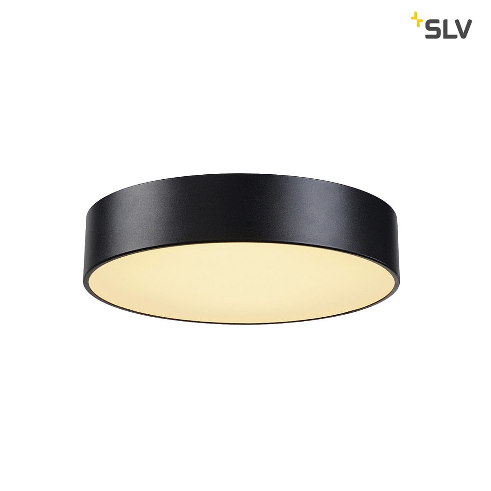 medo 40 led deckenleuchte schwarz slv ks licht onlineshop leuchten aus essen. Black Bedroom Furniture Sets. Home Design Ideas