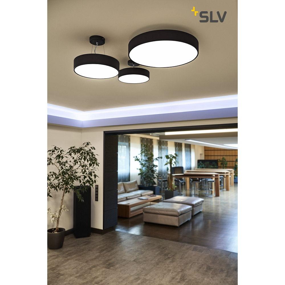 deckenleuchte medo 40 led schwarz ks licht onlineshop leuchten aus essen. Black Bedroom Furniture Sets. Home Design Ideas