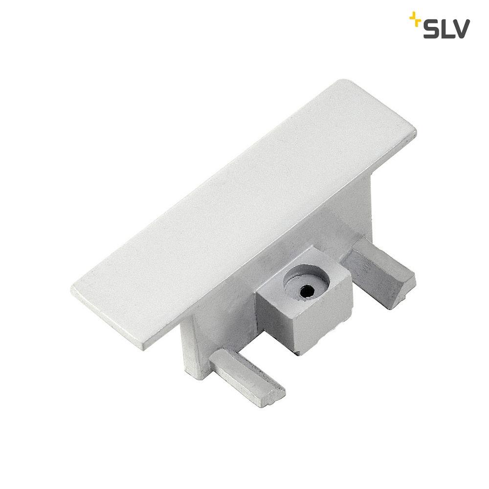 Endkappen für 1-Phasen HV-Stromschiene silbergrau 2 Stk.