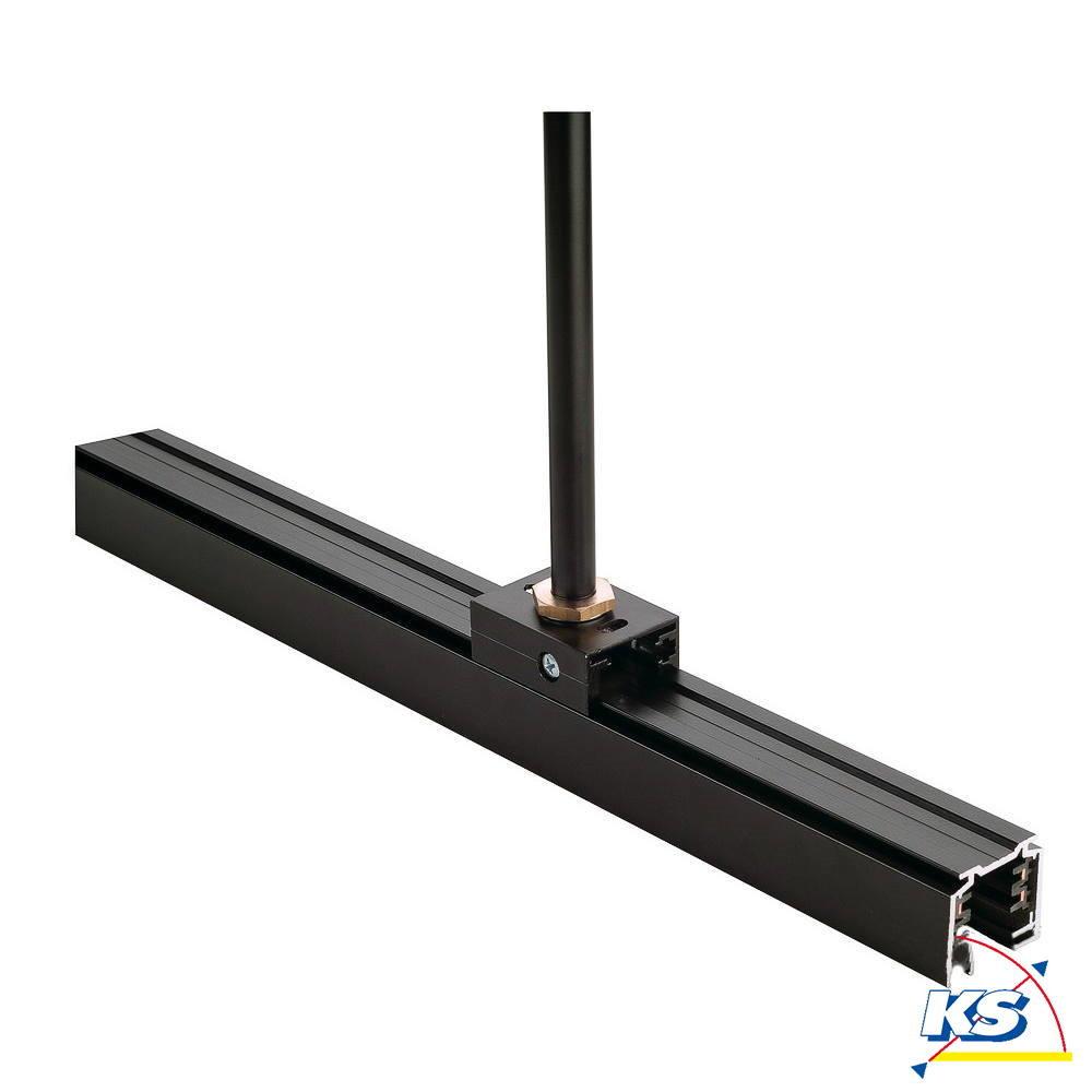 eutrac pendelclip f r 3 phasen hv schiene schwarz eutrac ks licht onlineshop leuchten aus. Black Bedroom Furniture Sets. Home Design Ideas