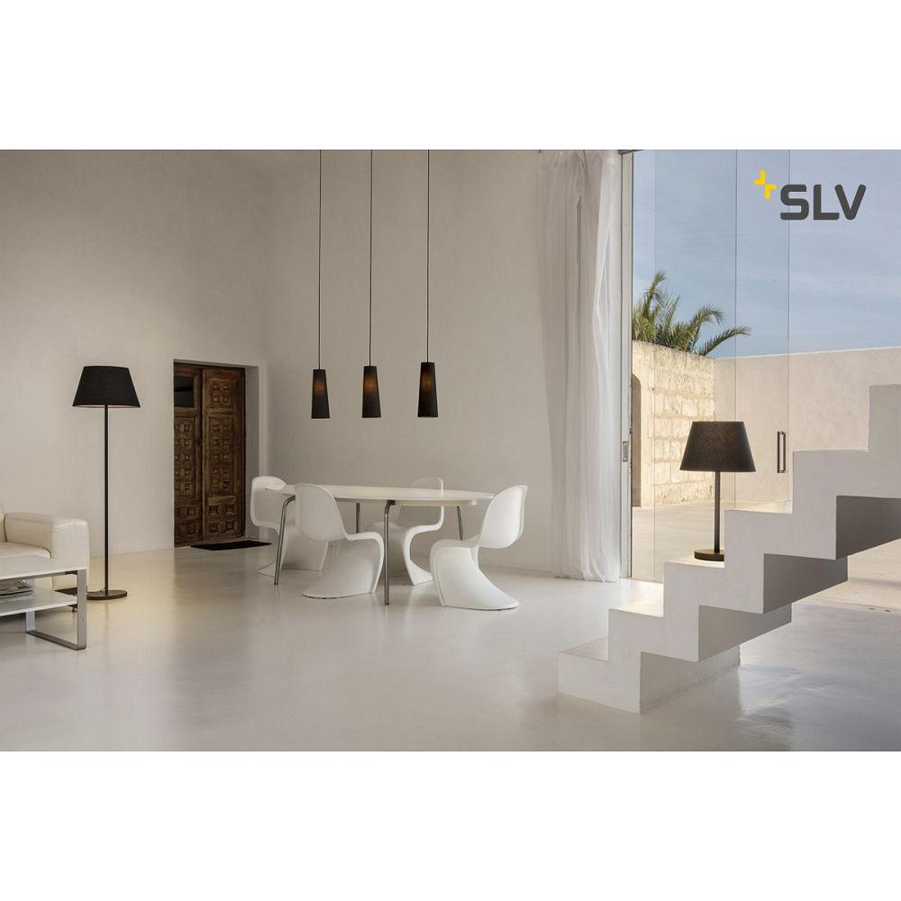 tischleuchte fenda e27 leuchtenfu ohne schirm slv ks licht onlineshop leuchten aus essen. Black Bedroom Furniture Sets. Home Design Ideas