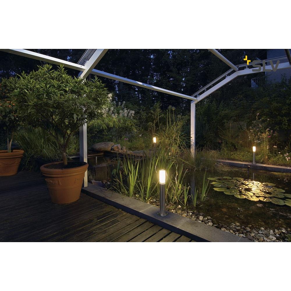 au enleuchte big nails standleuchte edelstahl 304 slv ks licht onlineshop leuchten aus essen. Black Bedroom Furniture Sets. Home Design Ideas