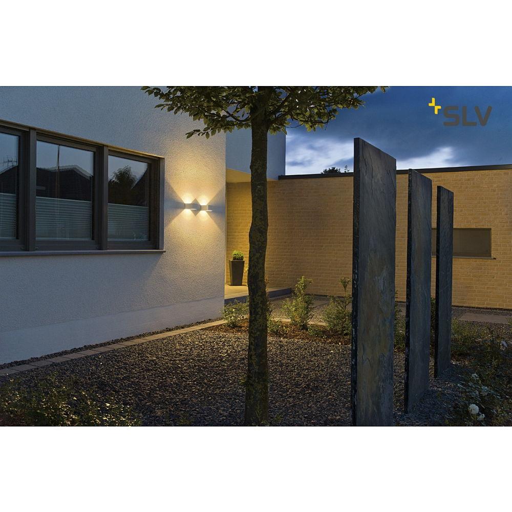 wandleuchte logs wall eckig led warmwei 6w ks licht. Black Bedroom Furniture Sets. Home Design Ideas