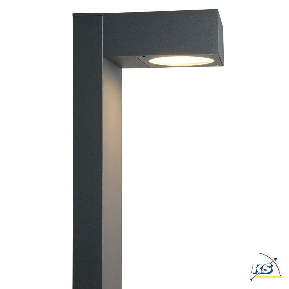 stehleuchte quadrasyl sl 75 eckig gx53 max 11w anthrazit ks licht onlineshop leuchten. Black Bedroom Furniture Sets. Home Design Ideas