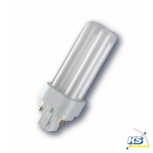 radium kompakt leuchtstofflampe ralux duo e sockel g24q 10 watt 840 radium ks licht. Black Bedroom Furniture Sets. Home Design Ideas