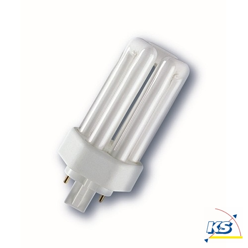 radium kompakt leuchtstofflampe ralux trio e sockel gx24q 26 watt 830 radium ks licht. Black Bedroom Furniture Sets. Home Design Ideas