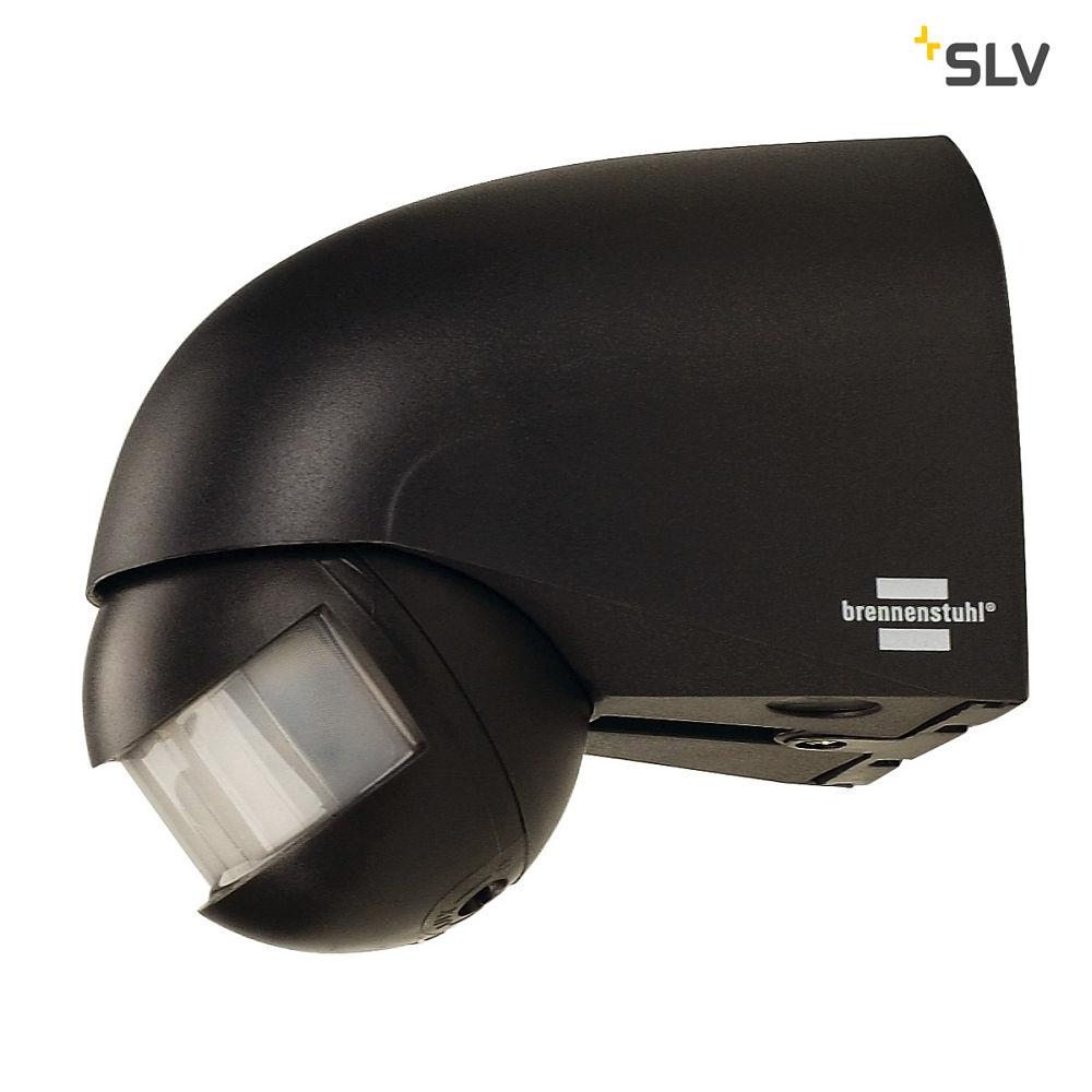 bewegungsmelder infrarot ip44 anthrazit slv ks licht onlineshop leuchten aus essen. Black Bedroom Furniture Sets. Home Design Ideas