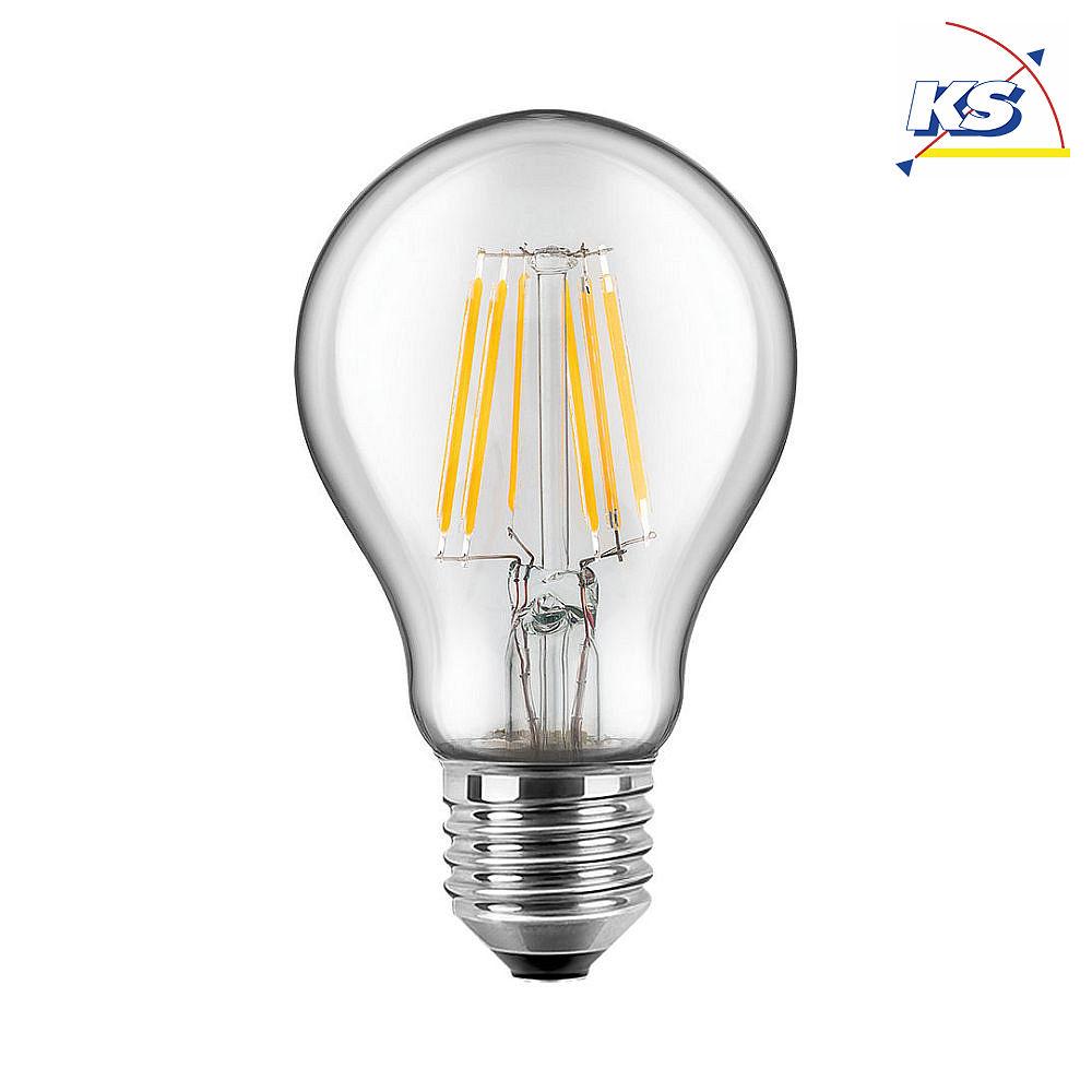 blulaxa led filament gl hfaden lampe birnenform retro klar 300 e27 warmwei glas 8w hwh. Black Bedroom Furniture Sets. Home Design Ideas