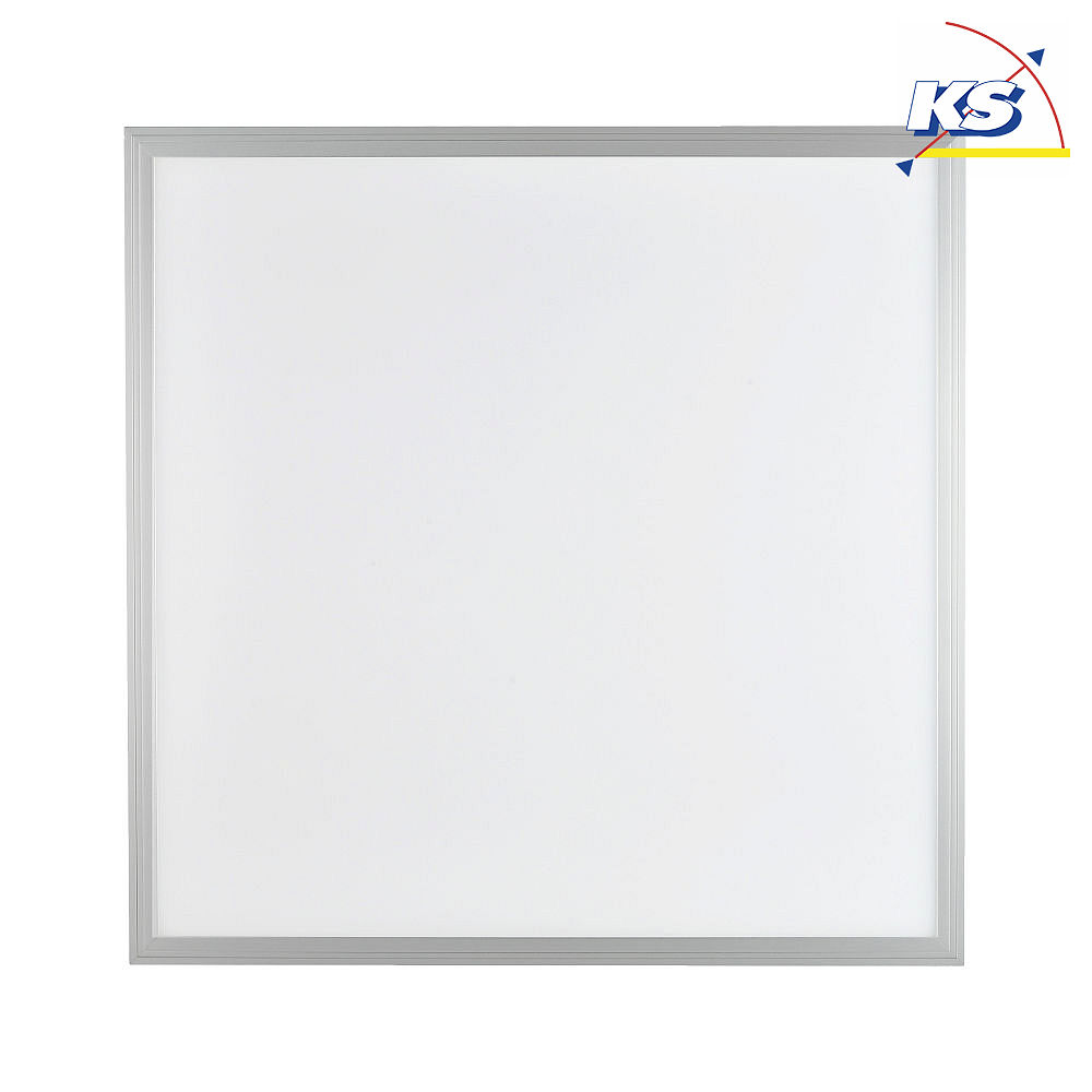 Blulaxa LED Panel 36 Watt 62x62cm, dimmbar, 3000K, warmweiß