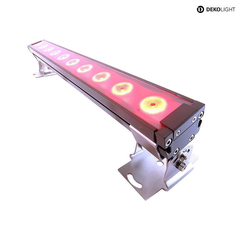 LED Außenstrahler WALL WASHER I RGB, 24V DC, 40W, 30°, symmetrisch ...