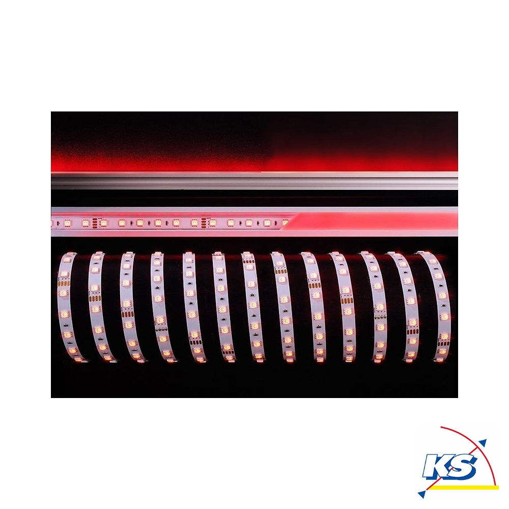 KapegoLED Flexibler LED Stripe, 5050-60-24V-RGB-5m-Nano