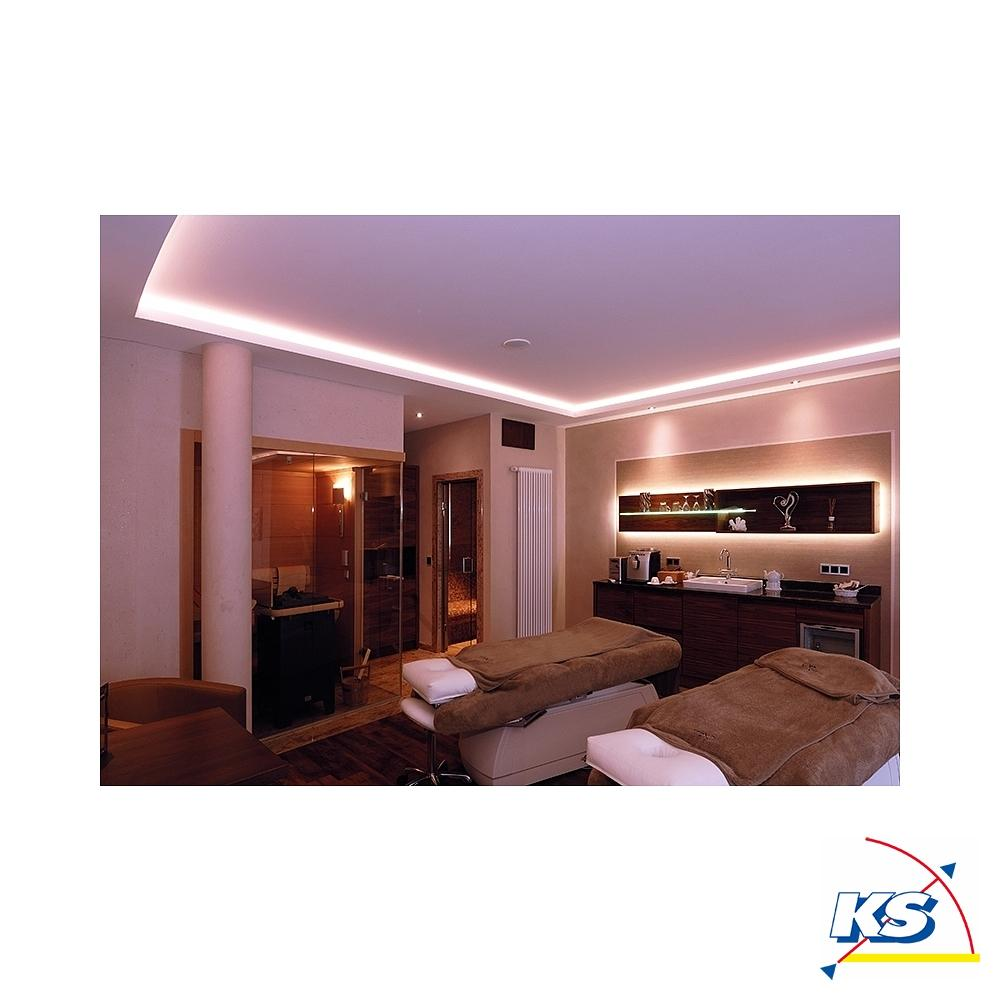 au 01 15 flaches u profil f r 15 16 3 mm led stripes. Black Bedroom Furniture Sets. Home Design Ideas