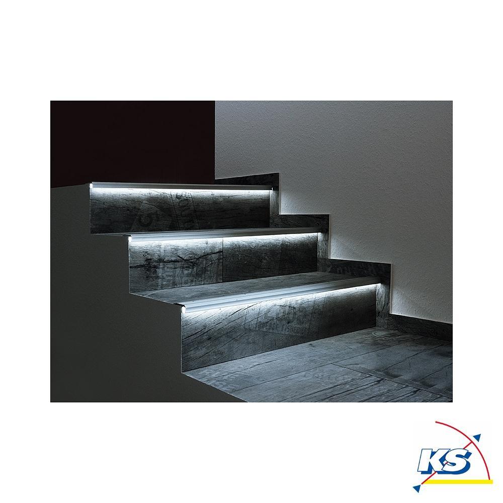 led profil al 02 10 treppenstufen profil f r 10 11 3mm led stripes aluminium eloxiert deko. Black Bedroom Furniture Sets. Home Design Ideas