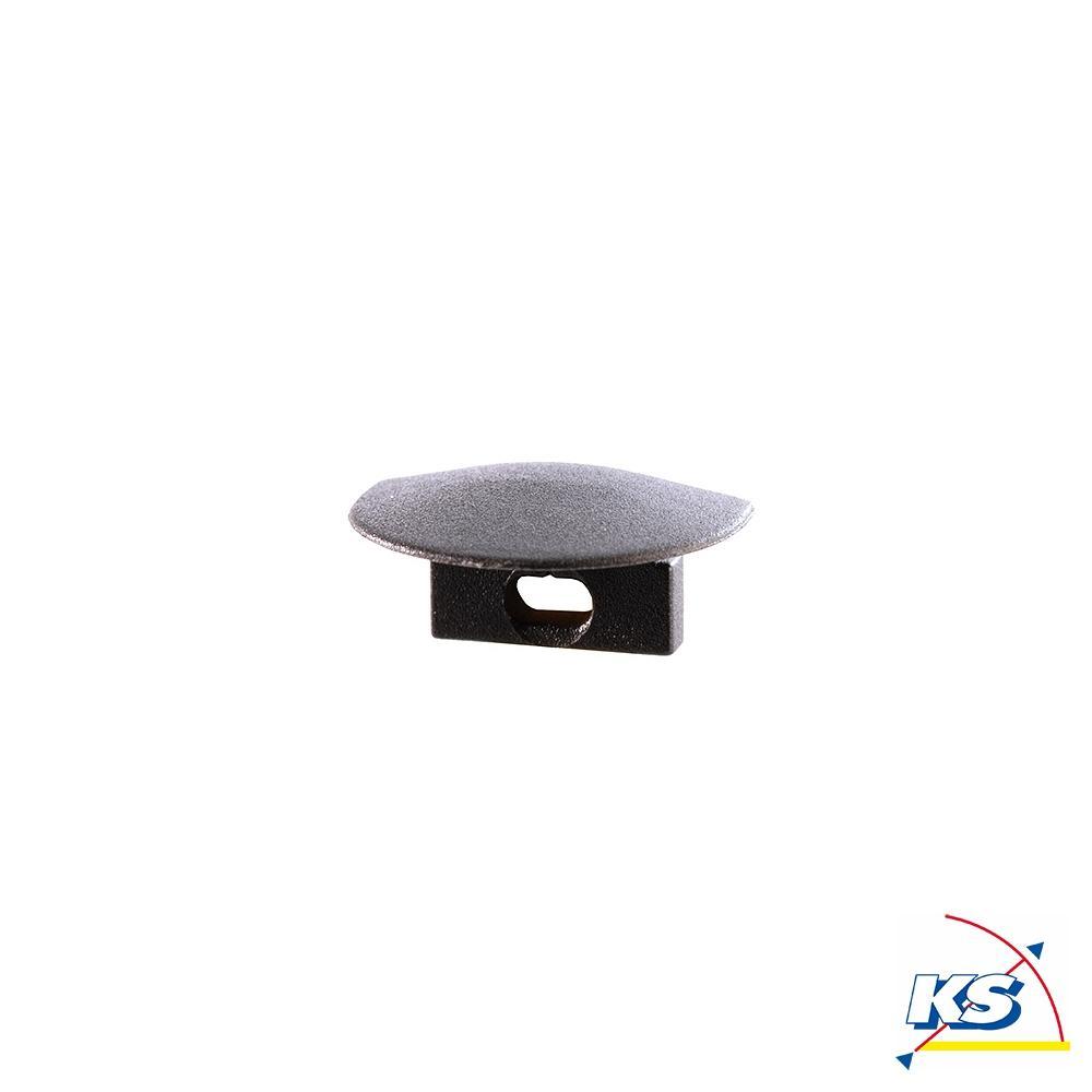 Zubehör für LED Profil F-ET-01-05 Endkappe, 2 Stück, schwarz - Deko ...