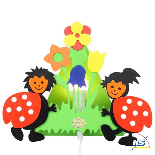 elobra wandleuchte marienk fer kinderzimmerleuchte 1x e14. Black Bedroom Furniture Sets. Home Design Ideas