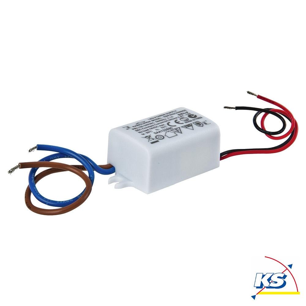 Fabulous Heitronic LED Vorschaltgerät 1...3x1W, max. 4,2W, 12V DC, 350mA LG01