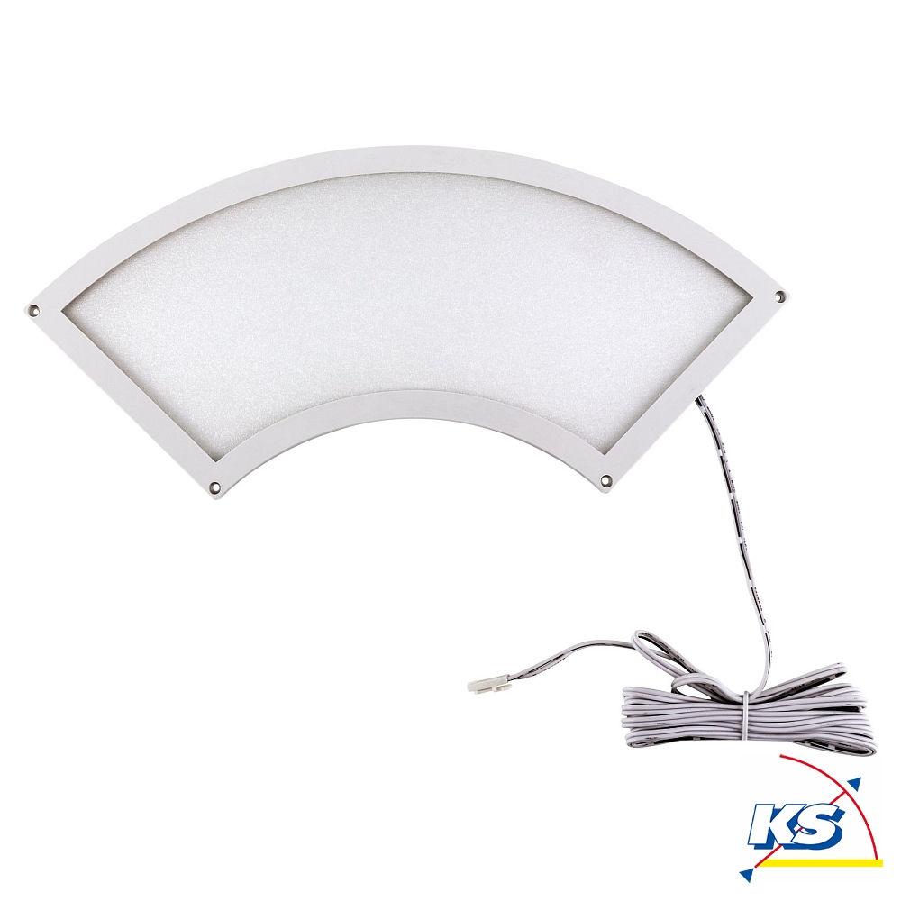 heitronic led panel fino 7w 28x10cm bogen ks licht. Black Bedroom Furniture Sets. Home Design Ideas