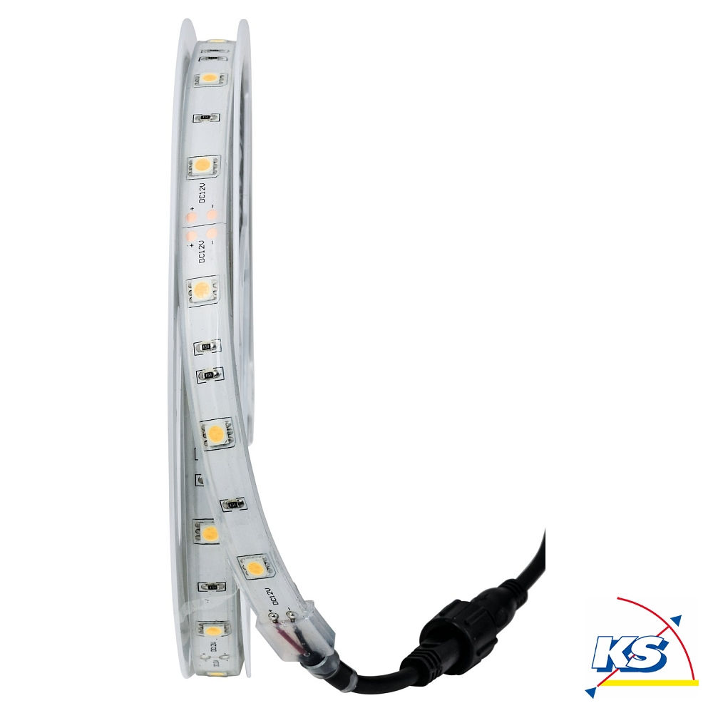 heitronic led strip 500cm f r den au enbereich ks licht onlineshop leuchten aus essen. Black Bedroom Furniture Sets. Home Design Ideas