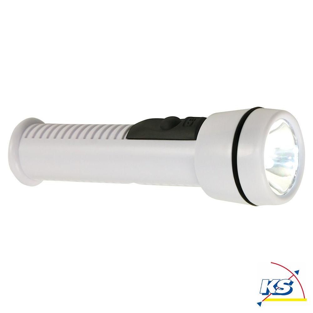 heitronic led sicherheitsleuchte mit abnehmbarer taschenlampe