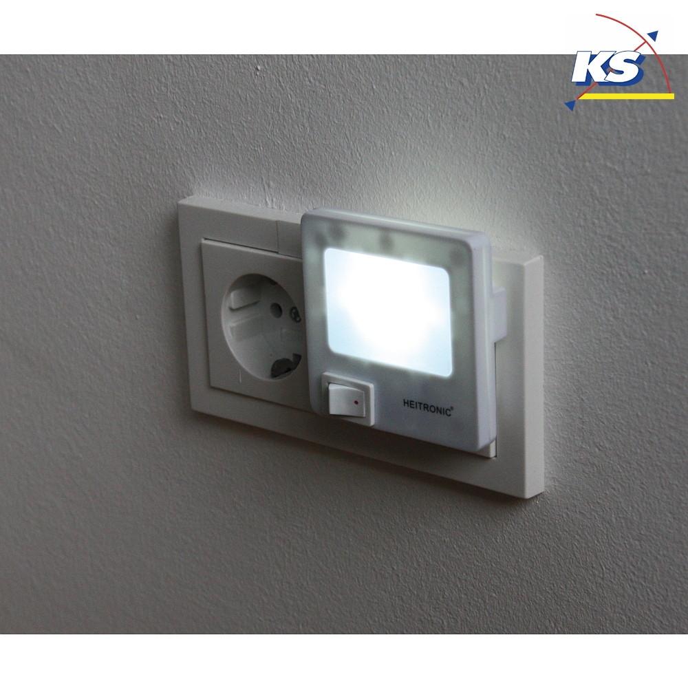 LED Nachtlicht, 1,5W, IP20, neutralweiß, mit Ein