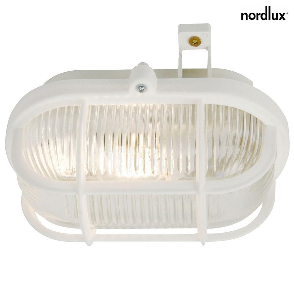 Nordlux wandleuchte skot deckenleuchte e27 ip44 wei for Nordlux leuchten