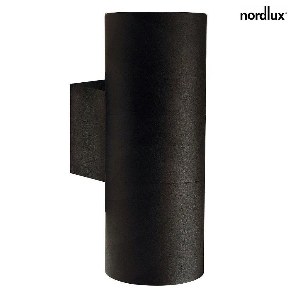 nordlux wandstrahler tin maxi up down au enleuchte 2 flammig gu10 ip54 ohne leuchtmittel. Black Bedroom Furniture Sets. Home Design Ideas