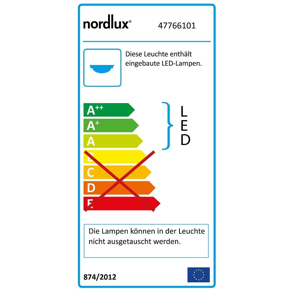 Nordlux Led Feuchtraum Lichtleiste Oakland 150 Ip65 Lange 155cm