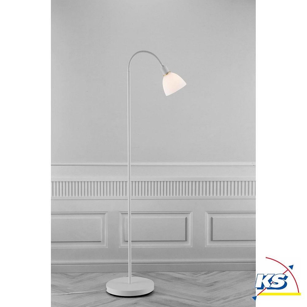 Außergewöhnlich Stehleuchte Weiß Ideen Von Nordlux Ray, 1-flammig, E14, Weiß/opal