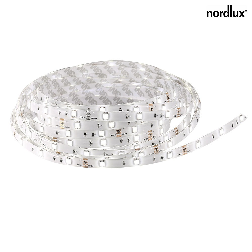 Nordlux LED Strip NIMBA 5M, 30W, 3000K, IP65, weiß