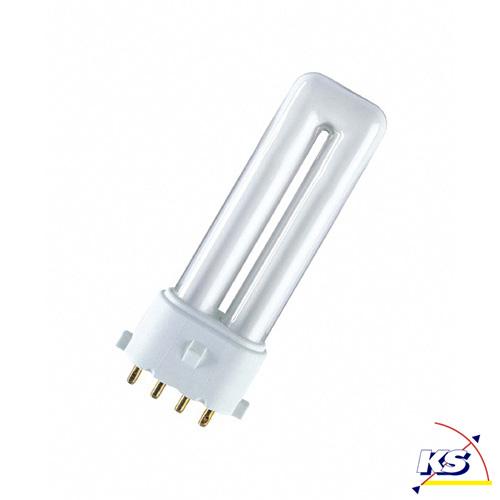 osram kompakt leuchtstofflampe dulux s e 827 2g7 warm osram ks licht onlineshop leuchten. Black Bedroom Furniture Sets. Home Design Ideas
