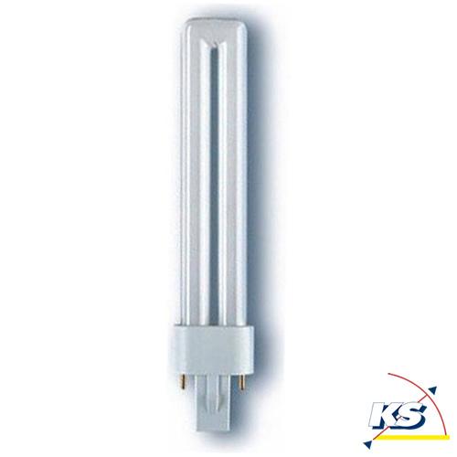 osram kompakt leuchtstofflampe dulux s 830 g23 warmwhite 9w osram ks licht onlineshop. Black Bedroom Furniture Sets. Home Design Ideas