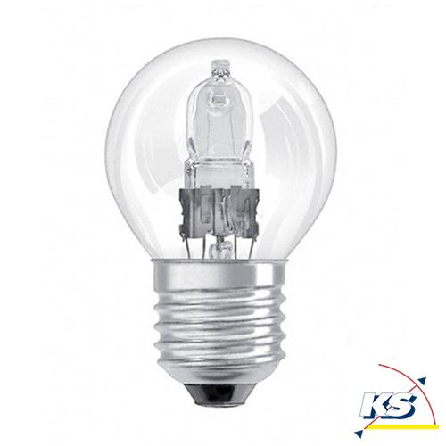 osram halogen tropfenlampe eco p e14 ball lamp clear 28w. Black Bedroom Furniture Sets. Home Design Ideas