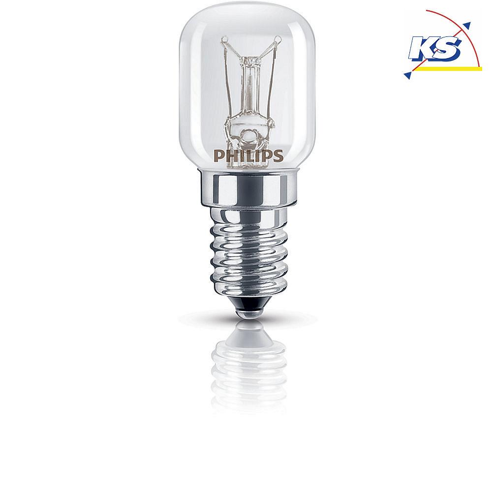 philips birnenlampe t25 e14 klar t25x57 15w k hlschranklampe ks licht onlineshop leuchten. Black Bedroom Furniture Sets. Home Design Ideas
