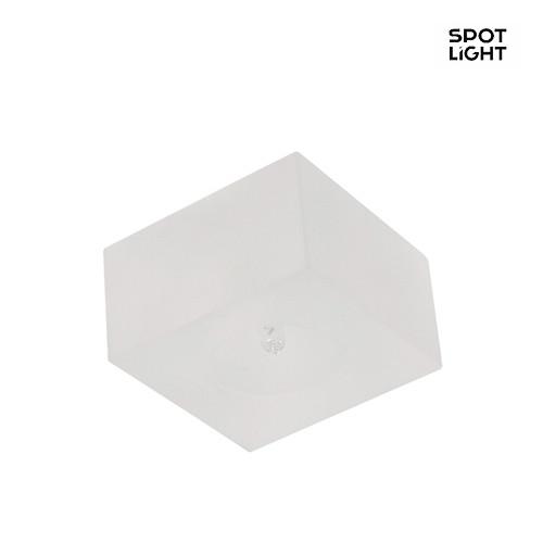 einbauleuchte cristaldream quadratisch muster 2 chrom wei