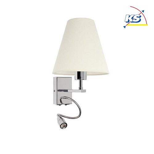 wandleuchte relax mit spot rund e27 led spot britop lighting ks licht onlineshop. Black Bedroom Furniture Sets. Home Design Ideas