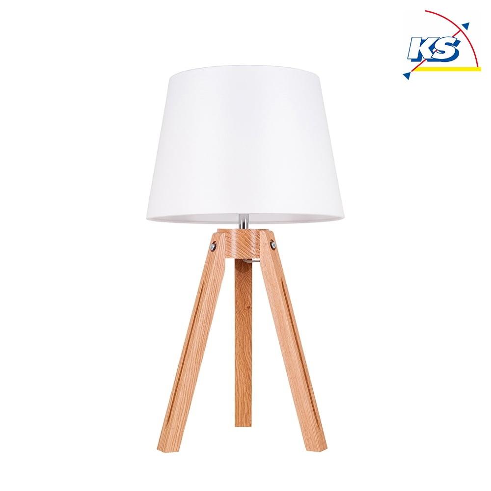 tischleuchte tripod 55 5cm e27 ks licht onlineshop leuchten aus essen. Black Bedroom Furniture Sets. Home Design Ideas