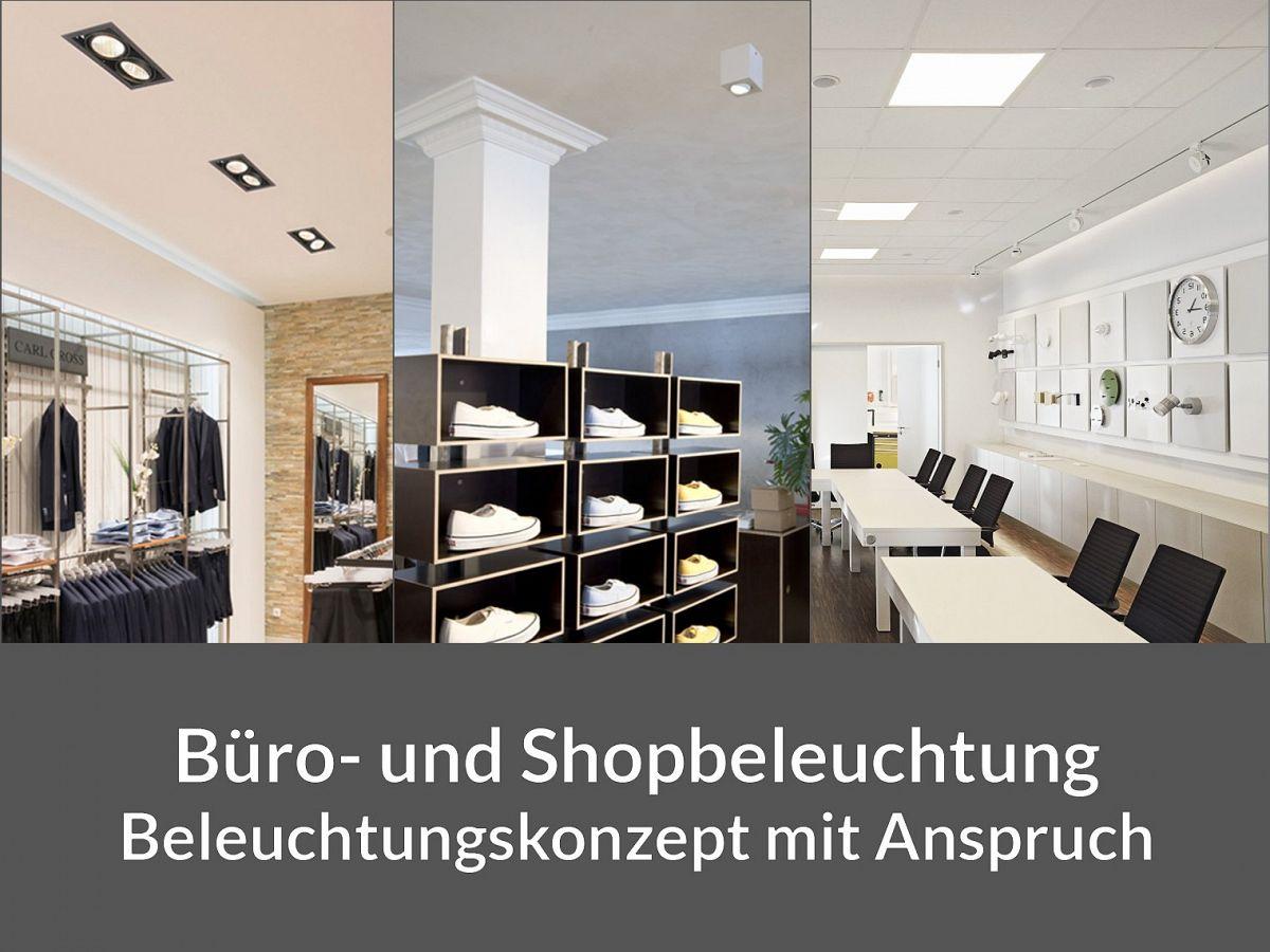 Deckenbeleuchtung für büro und shop ks licht onlineshop leuchten