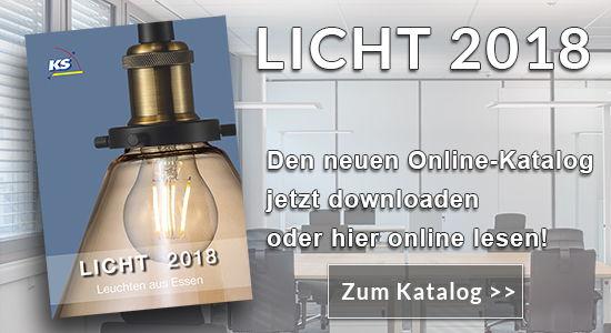 Katalog Licht 2018 - Leuchten aus Essen!