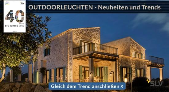 Outdoorbeleuchtung - Big White 2019  - Neu und trendy: Orientierung im Außenbereich.
