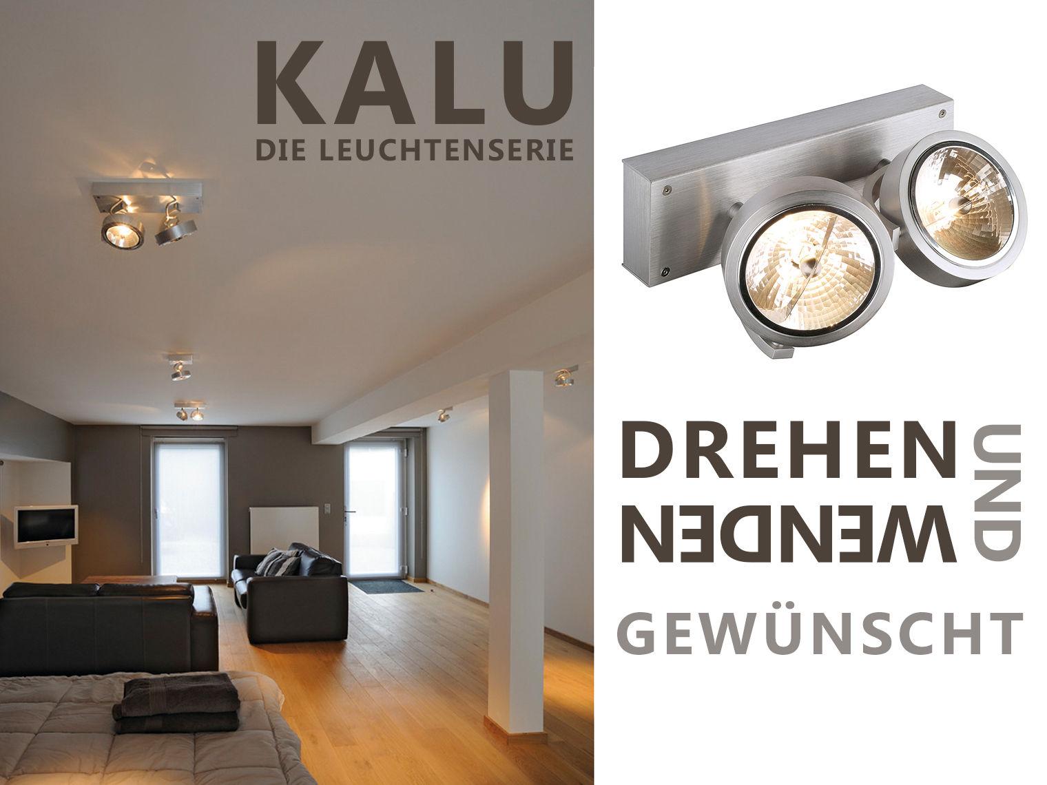 Drehen Und Wenden Erwünscht   KALU Leuchtenserie Für Wand, Decke Und Boden