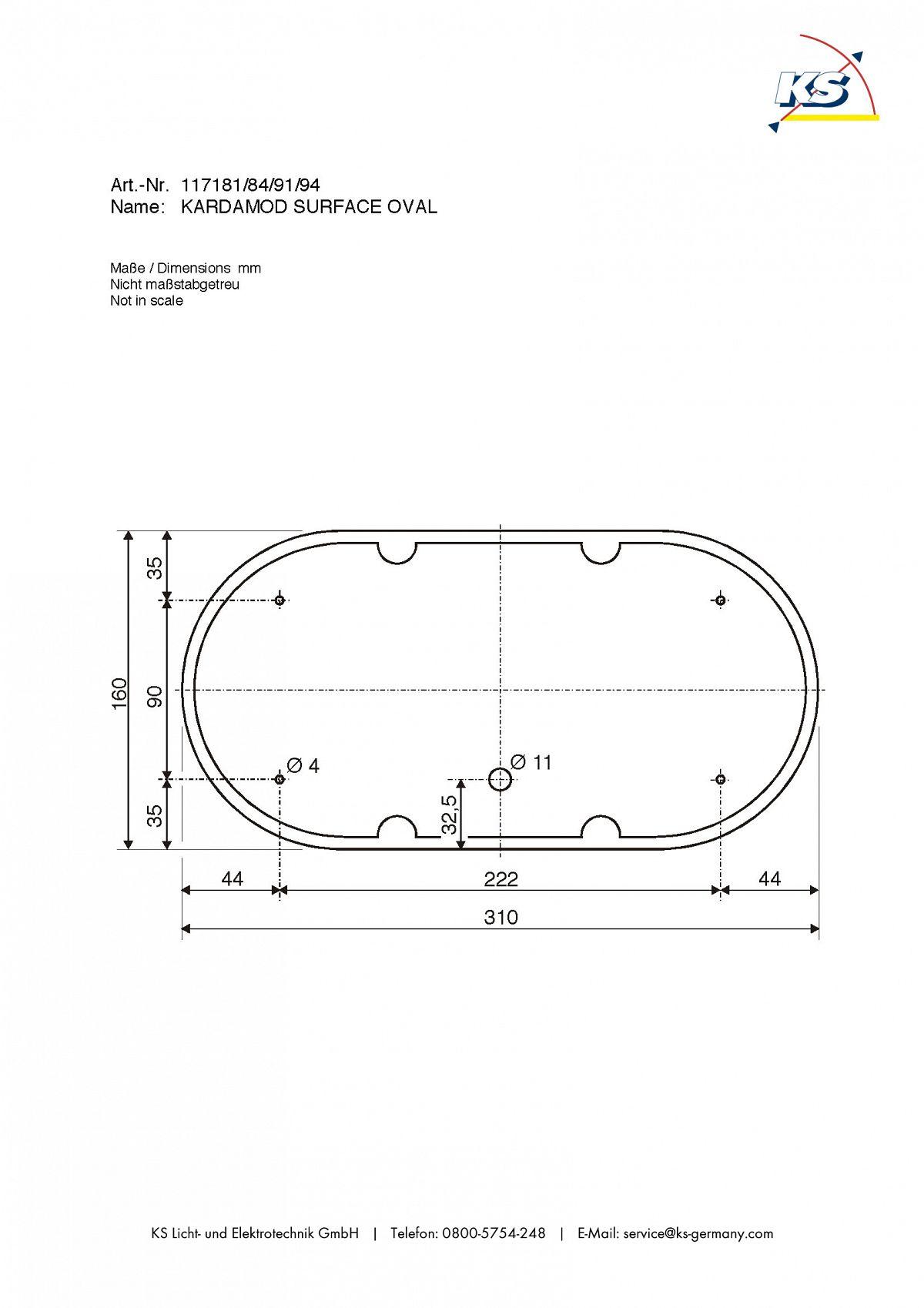 deckenstrahler kardamod surface round es111 double rund 2x gu10 wei slv ks licht. Black Bedroom Furniture Sets. Home Design Ideas