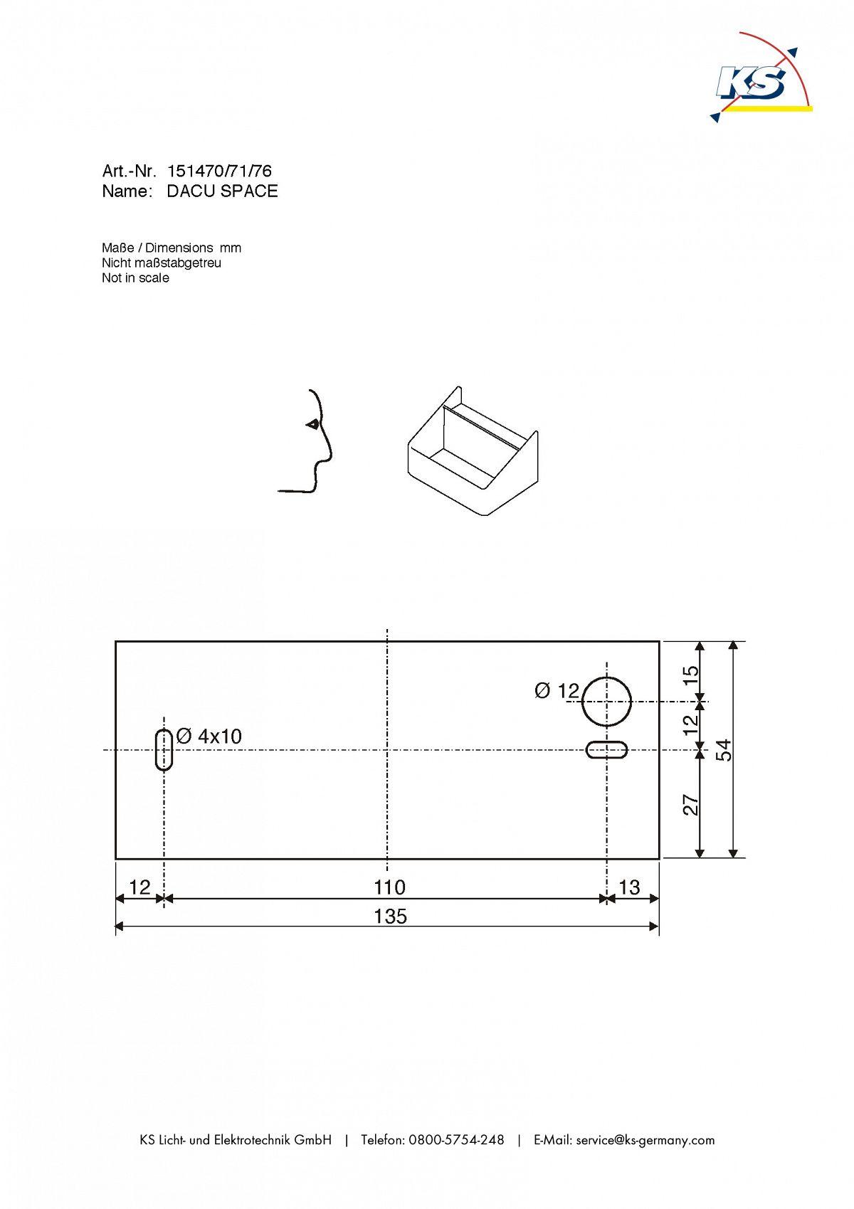 wandleuchte dacu space mit warmweissen led geh use aluminium wei ks licht onlineshop. Black Bedroom Furniture Sets. Home Design Ideas